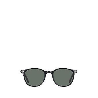 Garrett Leight BEACH SUN black-gold unisex sunglasses