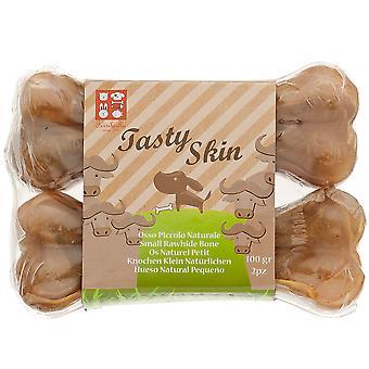 Ferribiella Medium Rawhide luinen (koirat, kohtelee, koristelematon kohdella)