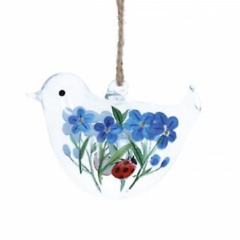 Gisela Graham Glas Vogel Ostern Dekoration