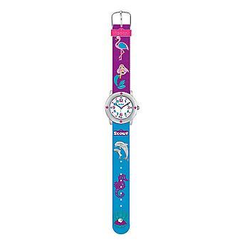 Scout Kids Ceas de învățare Ceas Star Kids - Apă World Girls 280393023