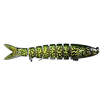 ZANLURE 6pcs/Set 100g Multi-Sektion Angelköder Set künstliche Wobbler Pike Bait Süßwasserfischen