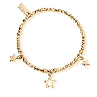 ChloBo Triple Star Armband GBSB1065810