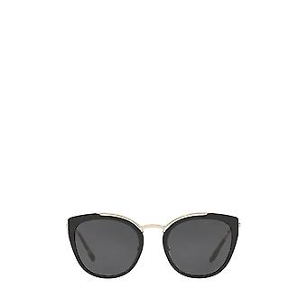برادا PR 20US الذهب شاحب / نظارات شمسية أنثى سوداء