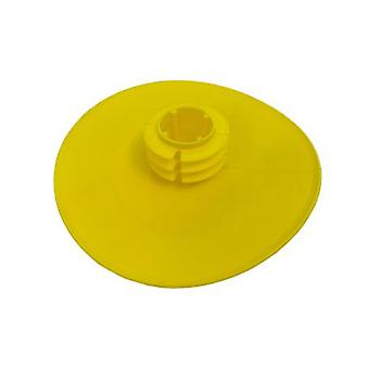 Push In Full Face Flanged End Cap / Protector For 40nb (48.3 Mm Od) Pipe