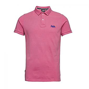 Polo Superdry Classic Pique S S Polo Rose