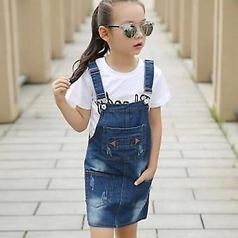 Denim Overall Cowboy Pettorale