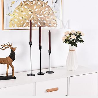 Metal Candle Holders Luxury Candlestick Fashion Wedding Stand Exquisite