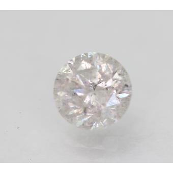 Sertifioitu 1,06 karat F SI3 pyöreä brilliant parannettu luonnollinen löysä timantti 6,22mm