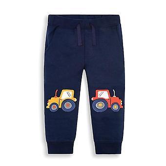 Cartoon Car Pattern Full Length Pants ( Set 1)