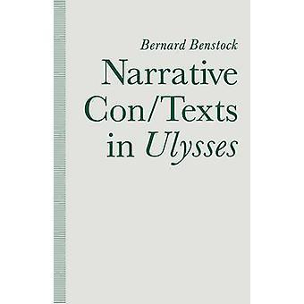 Bernard Benstockin kerronnallinen con/texts in Ulysses - 9781349118762 Bo