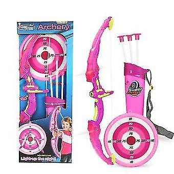 Sports Shooting, Children's Flashing Bow And Arrow Toys, Suction Cup Arrows