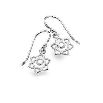 Sterling Silver Earrings - Origins Lotus Moon