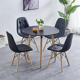 شرفة المنزل الشمال طاولة القهوة المستديرة الصغيرة الاستقبال والكراسي