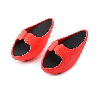 Women Fitness Weight Loss Massage Slippers, Female Stovepipe Shoes