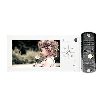 Video door telefon kaputelefon 1200tvl lyuk kamera 4.3/7 inch monitor videó