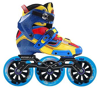 Original Carbon Fiber Inline Speed Roller Skates With Wheels/adult
