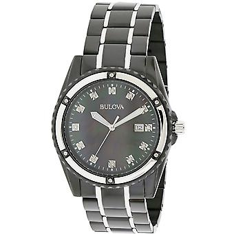 Bulova Marine Stjerne Diamant Mens Watch 98D107