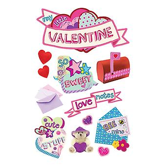 Paper House Productions - 3D Stickers - Little Valentine