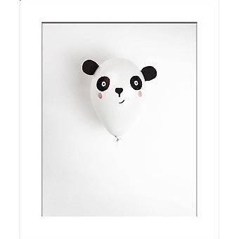 Hallmark I Used To Be A Coffee Cup Card - Panda Balloon