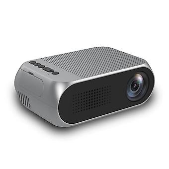 HD 80 Inch Portable LED Pocket Projector(Gray)