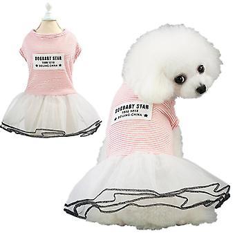 الربيع والصيف اللباس الكلب الصغير ملابس الحيوانات الأليفة