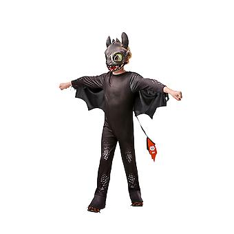 Kids Age 3 - 8 Years Toothless Costume How To Train Your Dragon Fancy Dress