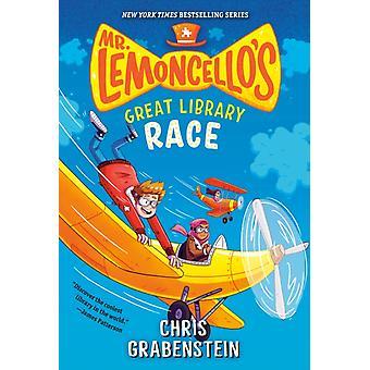 Mr. Lemoncellos Great Library Race di Chris Grabenstein