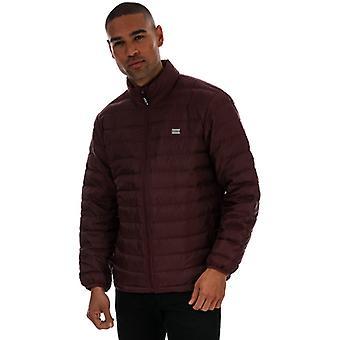 Men's Levis Predisio Packable Jacket in Red