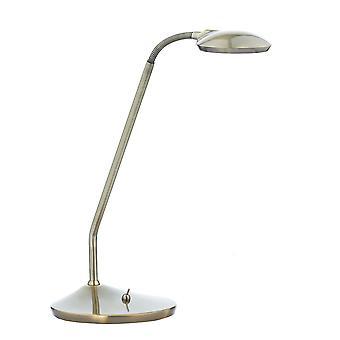 DAR WELLINGTON Tehtävätaulukko Lamppu Antiikki messinki LED
