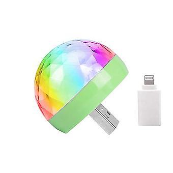 Usb Mini Disco Lights Portable Home Party