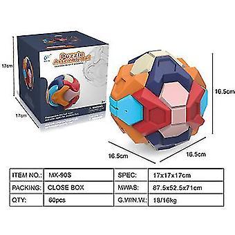 Polygon jouets éducatifs pour enfants assemblés tirelire early education intelligence démontage balle jouet x609