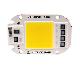2個50w 110v暖かい白220v / 110v led軽いコブチップ、50w / 30w / 20w LEDランプビーズ az7474