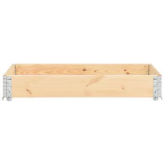 vidaXL Pallet top frame 50×150 cm pine solid wood