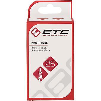 Tube intérieur ETC 26 x 1.75-2.125 Presta