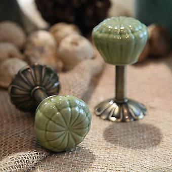 1 Pair Vintage Pumpkin Decorative Hooks