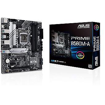 Asus PRIME B560M-A, Intel B560, 1200, Micro ATX, 4 DDR4, 2 HDMI, DP, RGB, 2x M.2