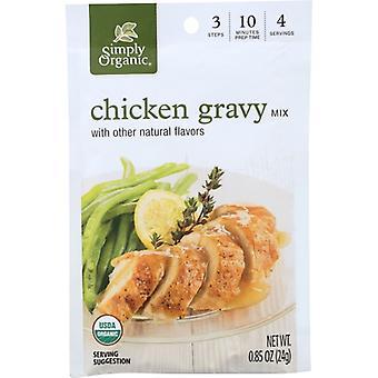 Simply Organic Mix Gravy Rstd Chkn Org, Case of 12 X 0.9 Oz