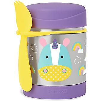 SkipHop Zoo Insulated Food Jar, Eureka Unicorn