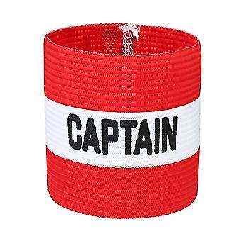 Kapten Armband Stark Klibbig Ärm Badge