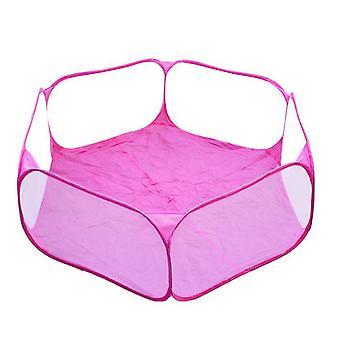 Children's bobo ball tent, pet fence tent(Pink)