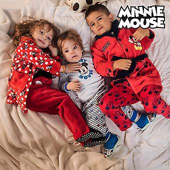 Children's Dressing Gown Minnie Mouse Red