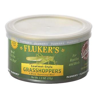 Flukers Gourmet Style Canned Grasshoppers - 1.2 oz