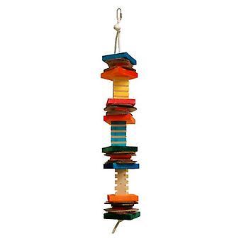 """Zoo-Max Groovy Finn Bird Toy - 30""""L x 4""""W"""