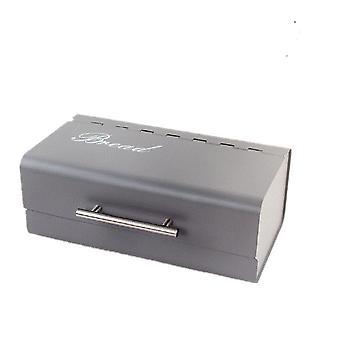 Retro Metall Brotbehälter Box Küche Aufbewahrungsbehälter Haushalt Desktop