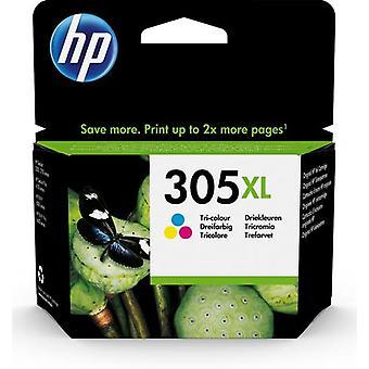 HP 305XL High Capacity Tricolor Cartridge, High (XL) Castr