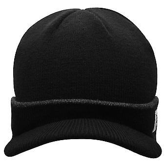 Everlast Mens Hat Beanie Hats Curved Peak Folded Cuff Comfortable Winter