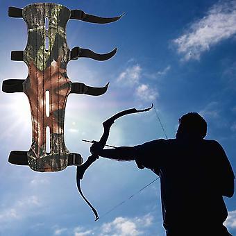 Kamuflaż Archer Armguard ArmGuard Ochraniacz na ramię Strzelanie Compound Bow