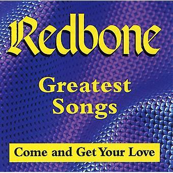 Redbone - Greatest Songs - komen krijgen ur [CD] USA importeren