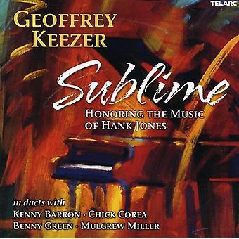 Geoff Keezer - Sublime: Honoring the Music of Hank Jones [CD] USA import