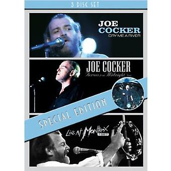 Joe Cocker - Cry Me a River/Across de minuit Tour/Live at importation USA M [DVD]